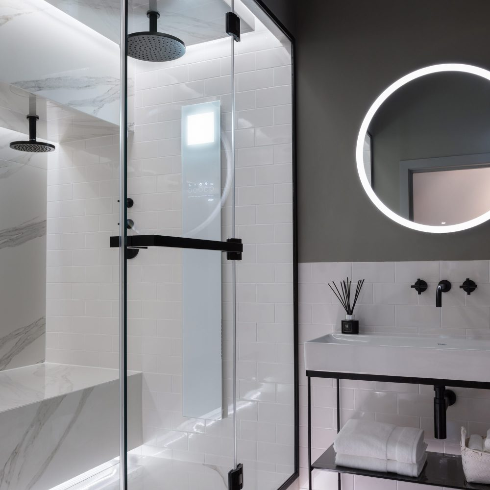 West One Bathrooms Battersea Showroom Feat