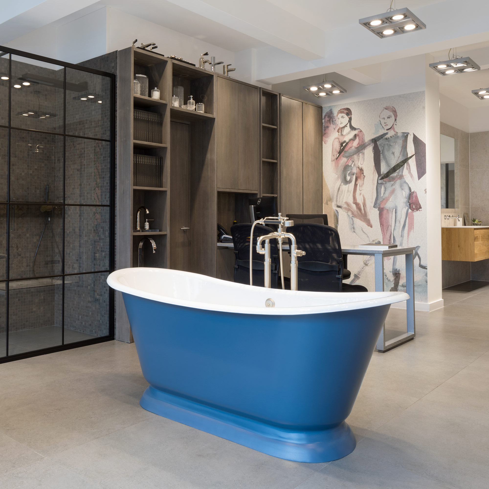 oxshott luxury bathroom showroom west one bathrooms. Black Bedroom Furniture Sets. Home Design Ideas