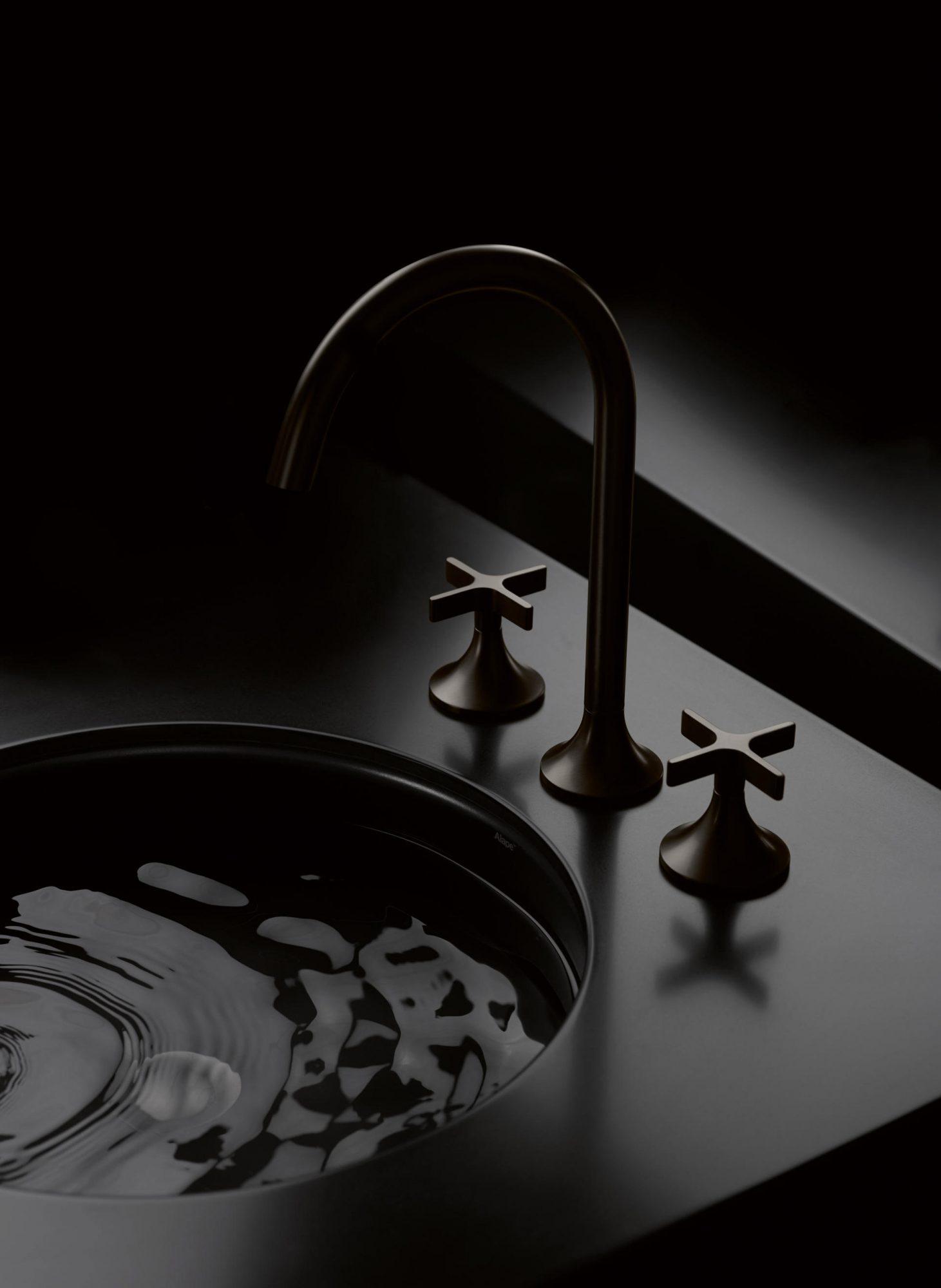 West One Bathrooms Inspiration Dornbracht Vaia Platinum Dark3