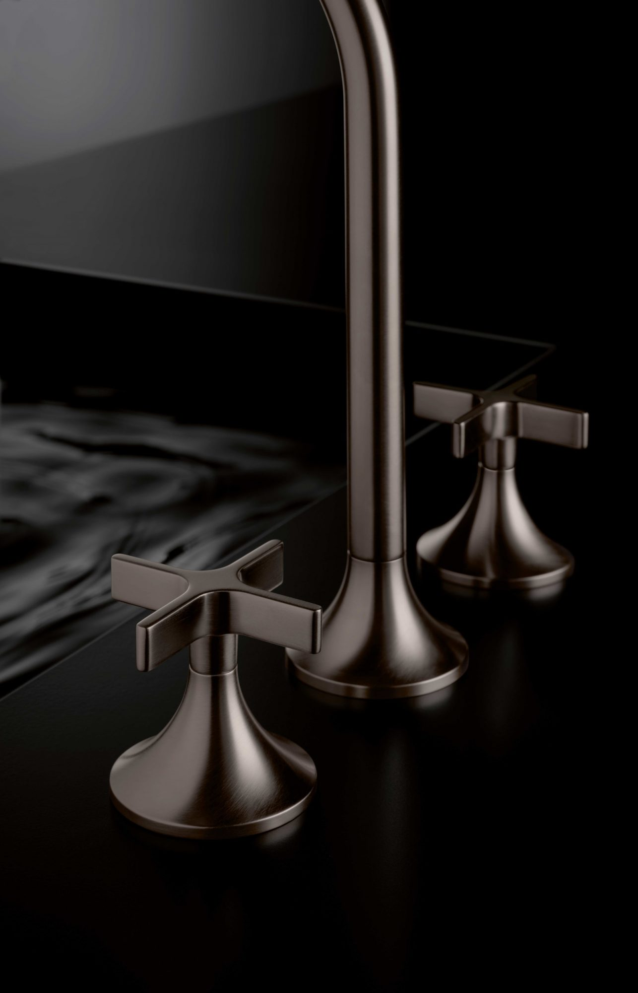 West One Bathrooms Inspiration Dornbracht Vaia Platinum Dark4