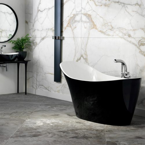 West One Bathrooms Amalfi lifestyle black