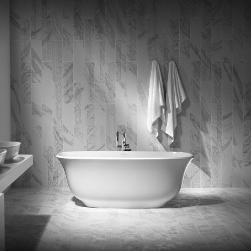 West One Bathrooms Amiata bath lifestyle