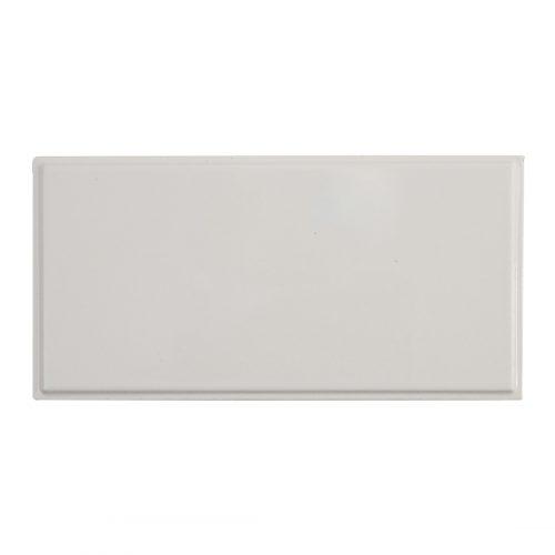 West One Bathrooms AnnSacks BarbaraBarry ModernFrame EmbossedEdge White Gloss 2