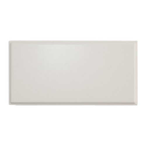 West One Bathrooms AnnSacks BarbaraBarry ModernFrame EmbossedEdge White Matte 2