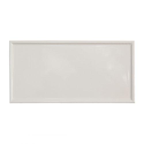 West One Bathrooms AnnSacks BarbaraBarry ModernFrame RaisedEdge White Gloss 2