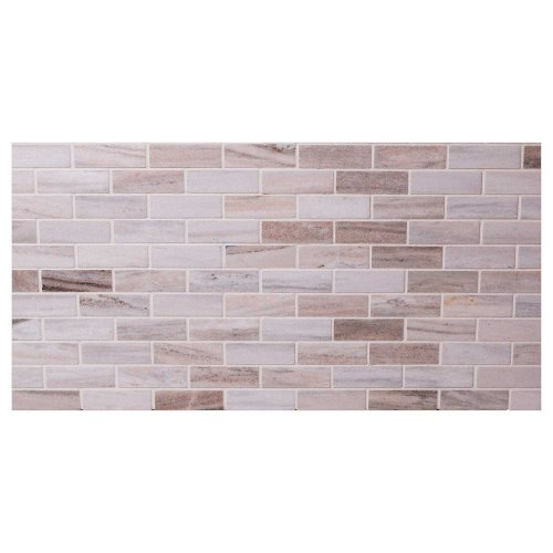 West One Bathrooms AnnSacks Orizzonte 1x3Staggered Mosaic Polished