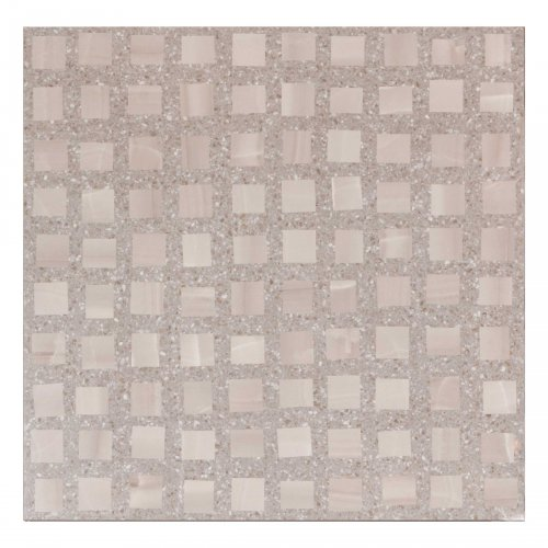West One Bathrooms AnnSacks Pezzo Square Steel 24×24 Field