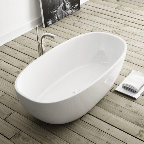 West One Bathrooms Barcelona Bath lifestyle birdseye