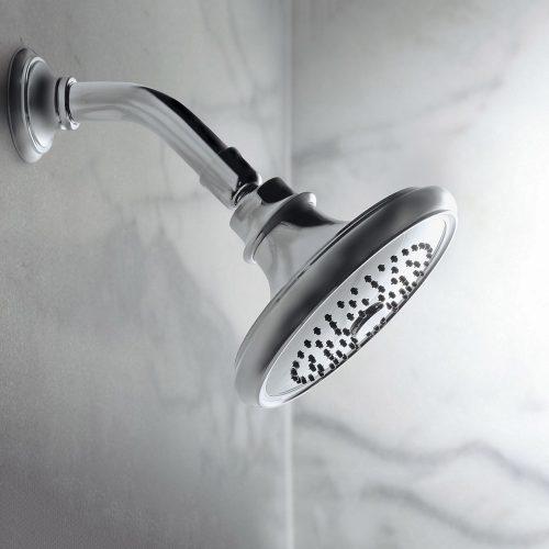 West One Bathrooms Bellis Showerhead lifestyle