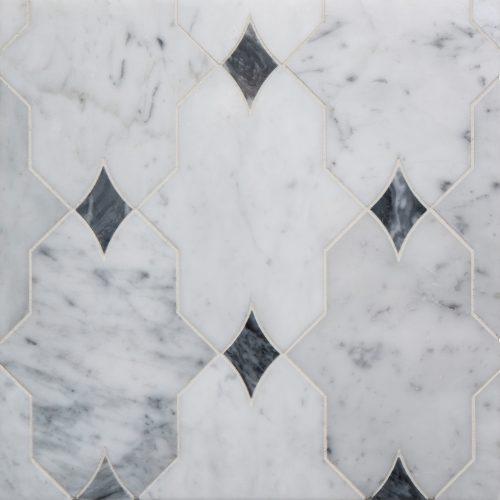 West One Bathrooms Benton Mosaics Board Aleta White fullbleed