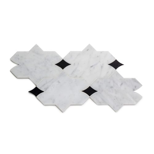 West One Bathrooms Benton Mosaics Mosaic Aleta Carrara Marquina