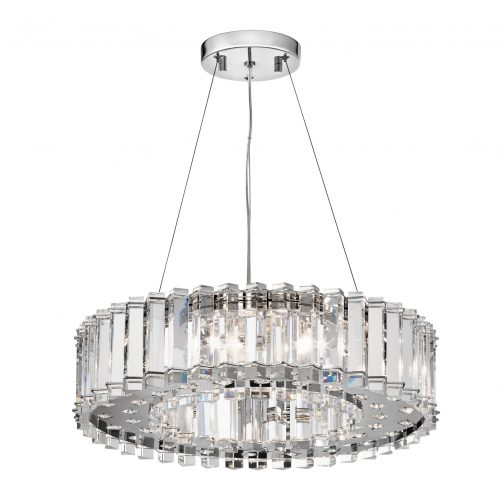 West One Bathrooms Crystal Skye ceiling light