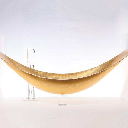 West One Bathrooms – Hammock Bath Splinterworks gold