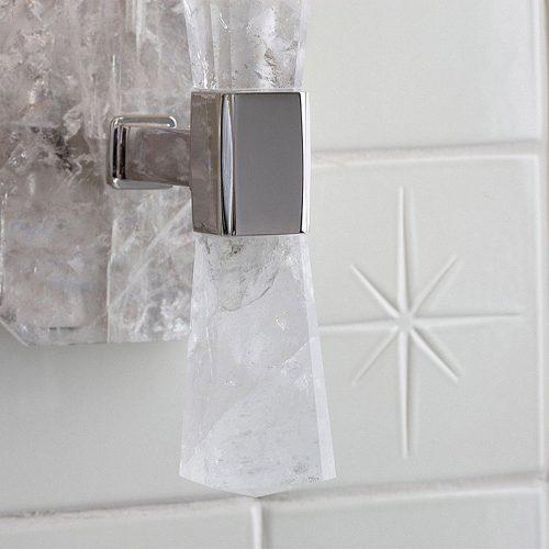West One Bathrooms Kallista Rock Crystal Detail