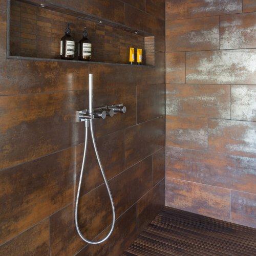 Metal Nanocorten via West One Bathrooms