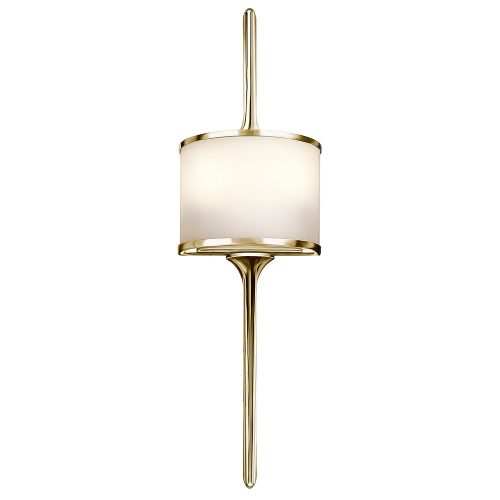West One Bathrooms Mona wall light – gold  Elstead