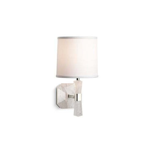 Counterpoint Rock Crystal Wall Sconce