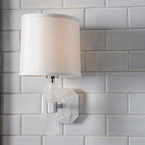 West One Bathrooms Rock Crystal Sconce2Kallista