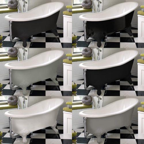 West One Bathrooms Shropshire Victoria Albert baths colours