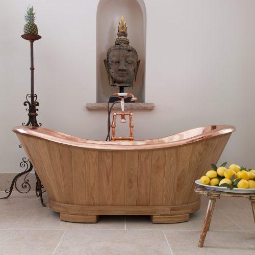 SLOOP Bath Oak and Copper
