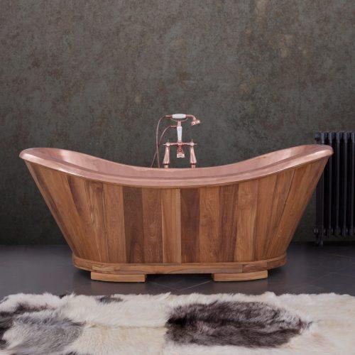 SLOOP Bath Teak and Copper