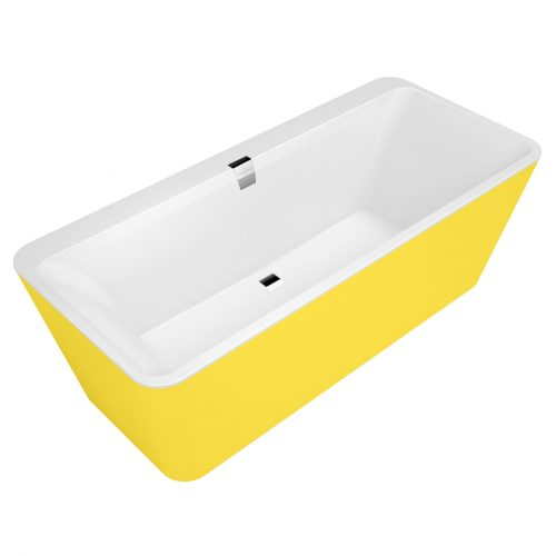 West One Bathrooms Squaro Edge 12 Villeroy&Boch CO YELLOW