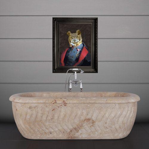 Tivoli Bath Travertine