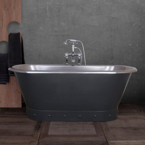 Torino Bath in Charcoal Lifestyle
