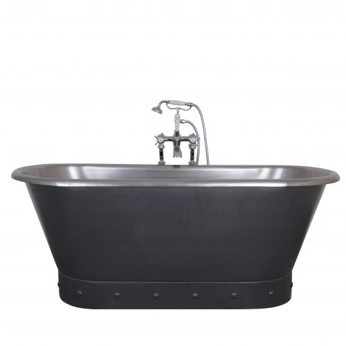 Torino Bath in Charcoal