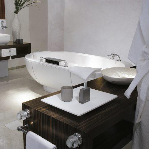 West One Bathrooms Twin lifestyle bath
