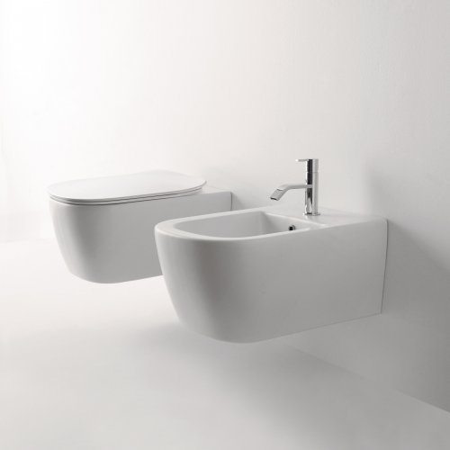West One Bathrooms Antoniolupi – Komodo WC and Bidet Wall Hung