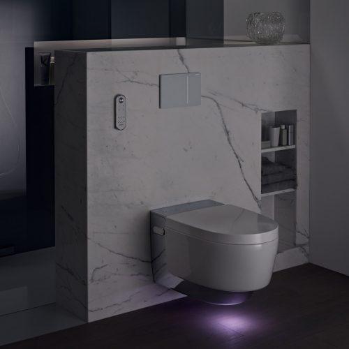 West One Bathrooms AquaClean Mera Lifestyle Night