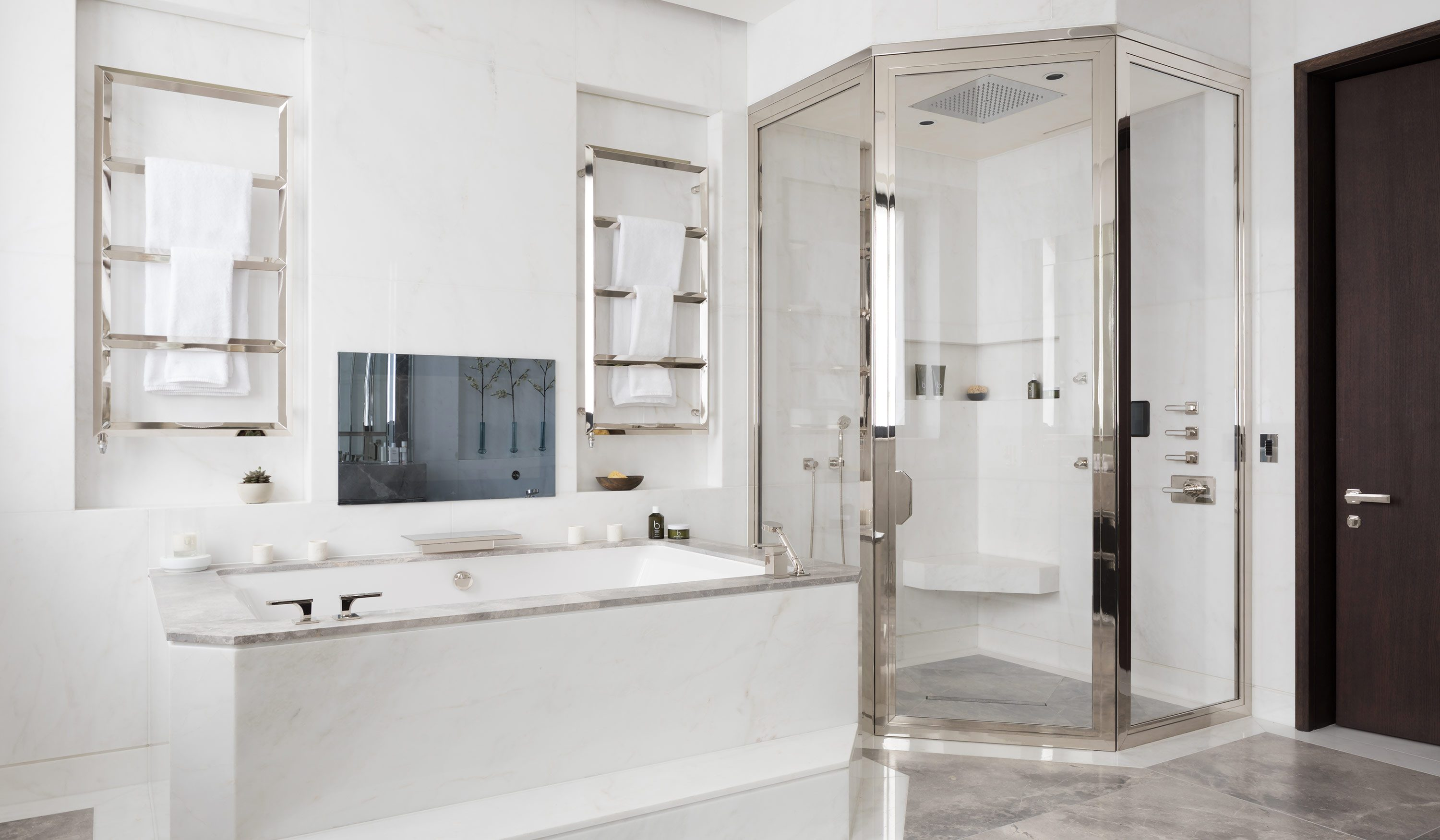 West One Bathrooms Case Studies Luxlo Penthouse Bathroom 2