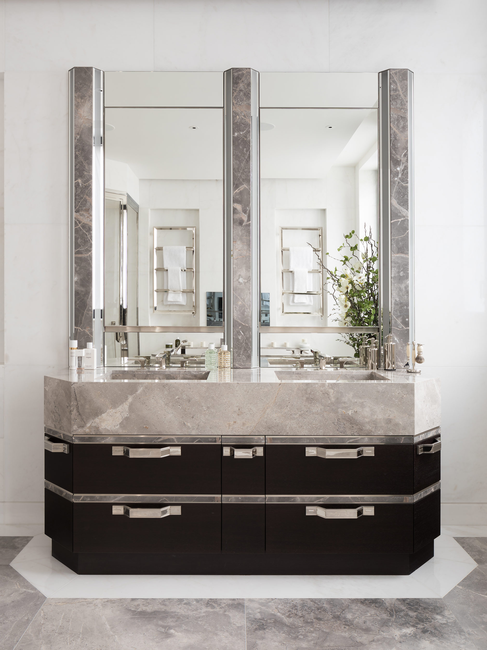 West One Bathrooms Case Studies Luxlo Penthouse Bathroom 6b