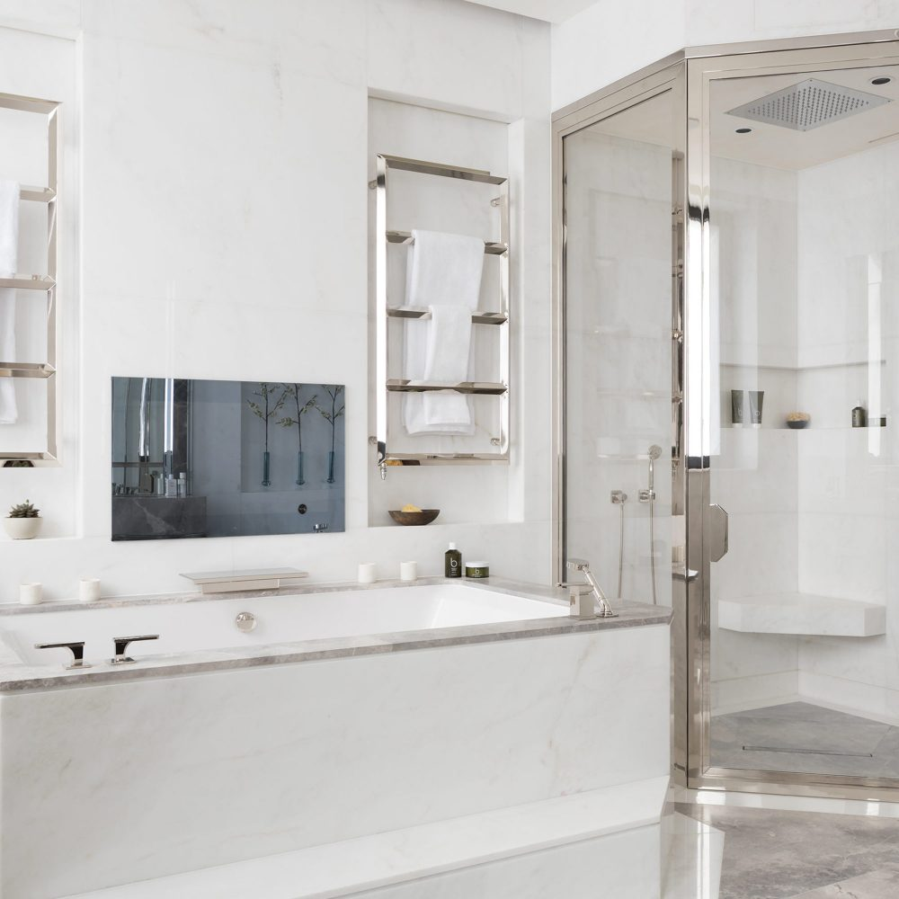 West One Bathrooms Case Studies Luxlo Penthouse Bathroom Feat