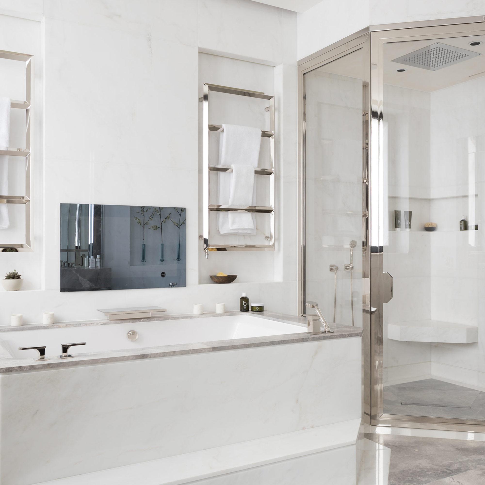 West One Bathrooms Case Studies Luxlo Penthouse Bathroom Feat