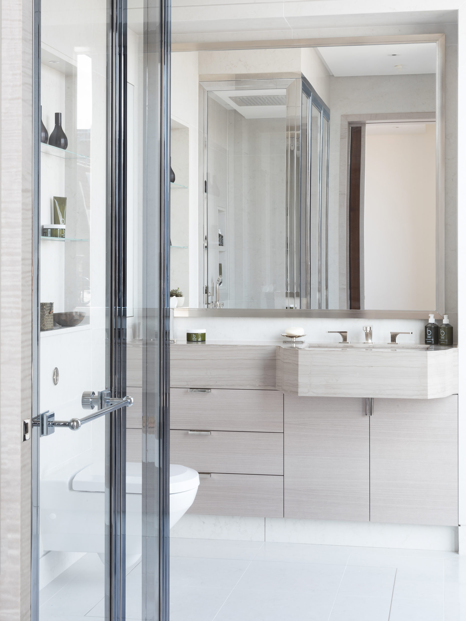 West One Bathrooms Case Studies Luxlo Penthouse Guest Bath 1b