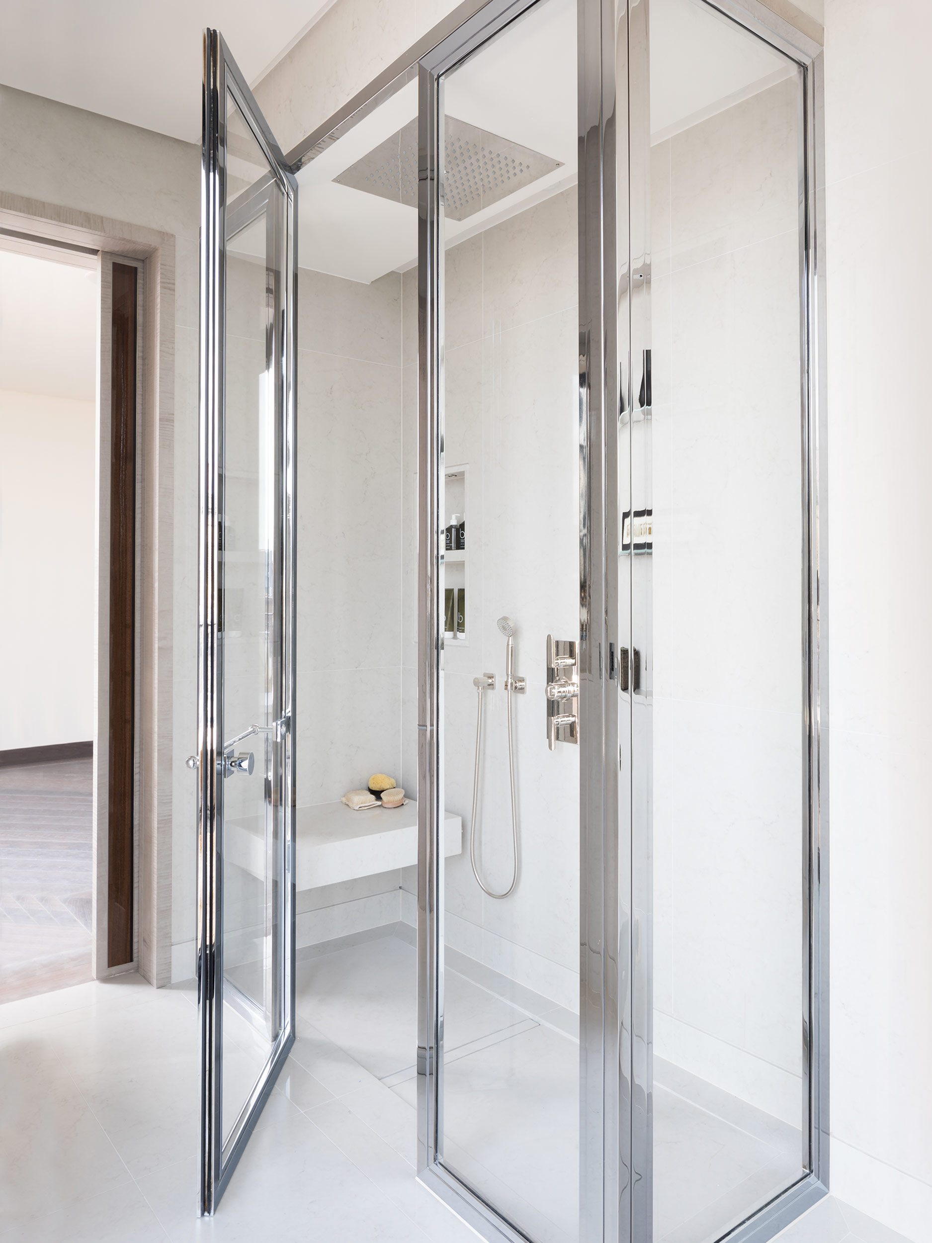 West One Bathrooms Case Studies Luxlo Penthouse Guest Bath 2a
