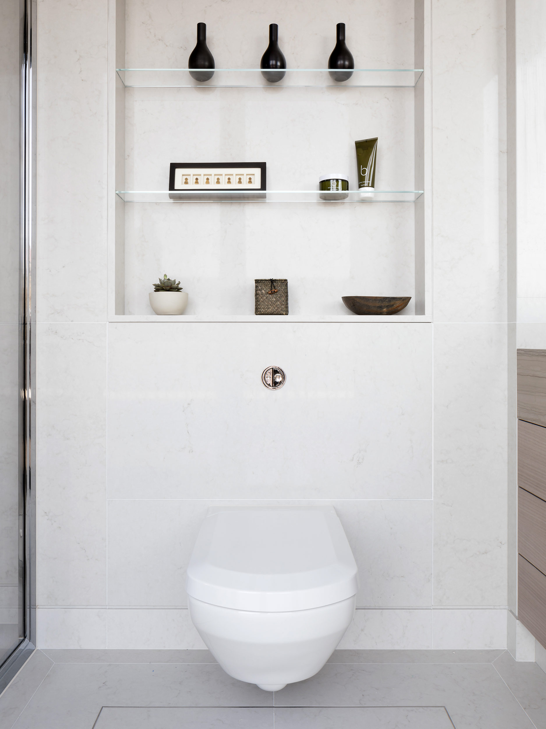 West One Bathrooms Case Studies Luxlo Penthouse Guest Bath 3a