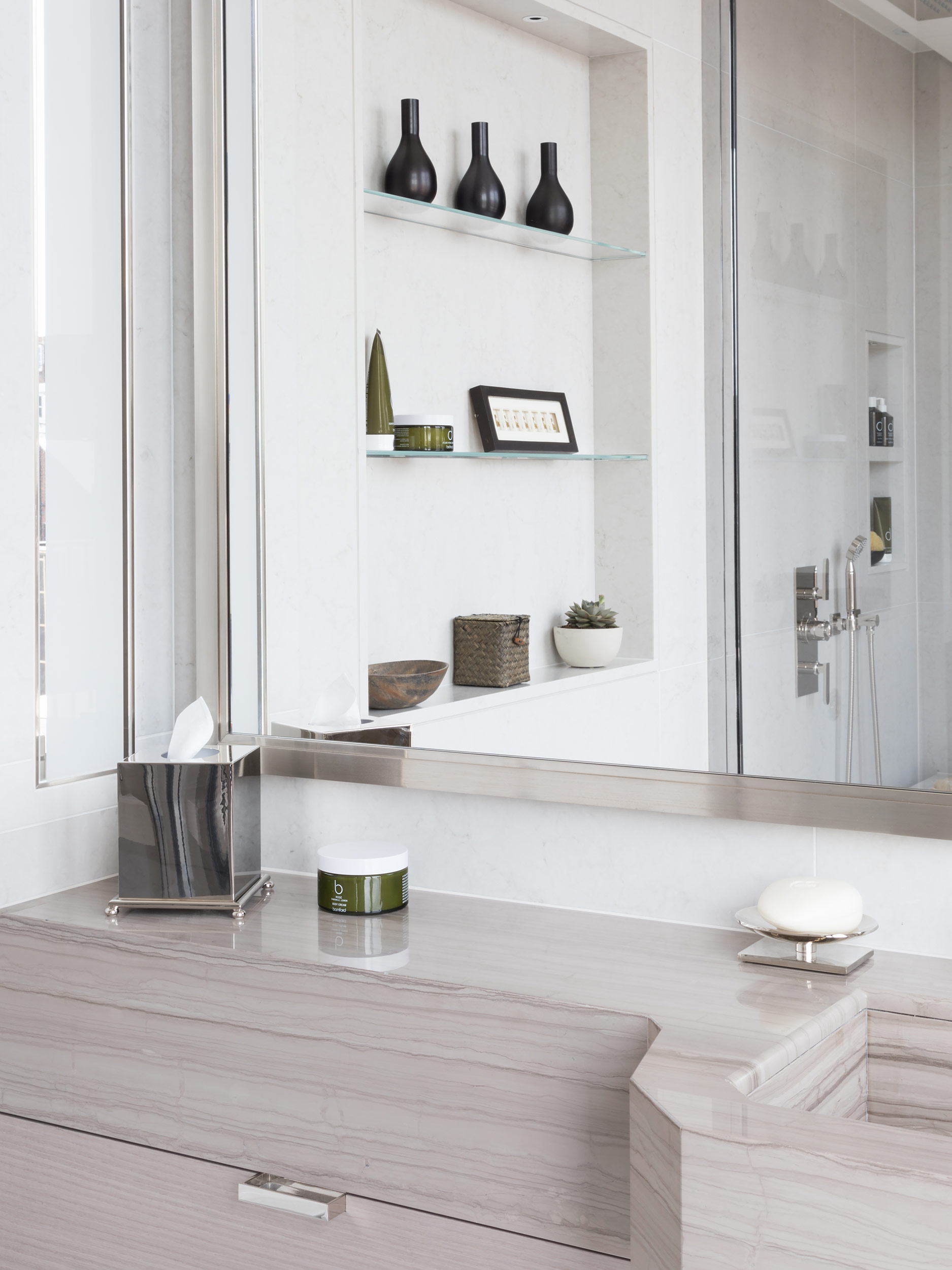West One Bathrooms Case Studies Luxlo Penthouse Guest Bath 4a