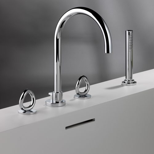 West One Bathrooms Collection O Brassware Bath 05