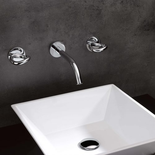West One Bathrooms Collection OG4P wall mounted basin mixerjpg 2