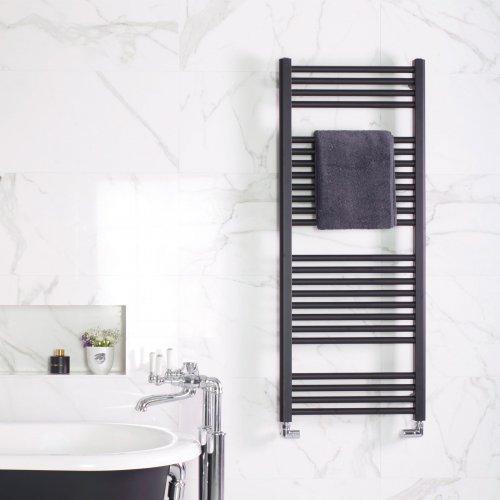 West One Bathrooms Deline Matte Black crop