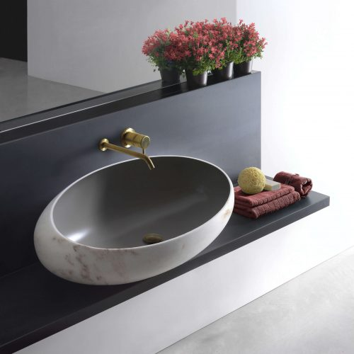 West One Bathrooms –  Gong Surface basin   gong  2
