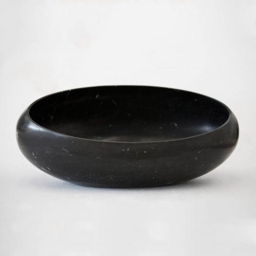 West One Bathrooms Gong Surface basin  Gong Nero Marquina (1)
