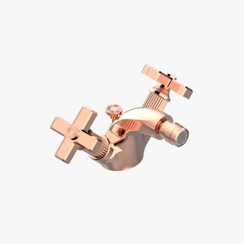 West One Bathrooms Grand Central Collection Bidet Mixer 02