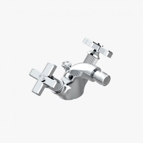 West One Bathrooms Grand Central Collection Bidet Mixer 04
