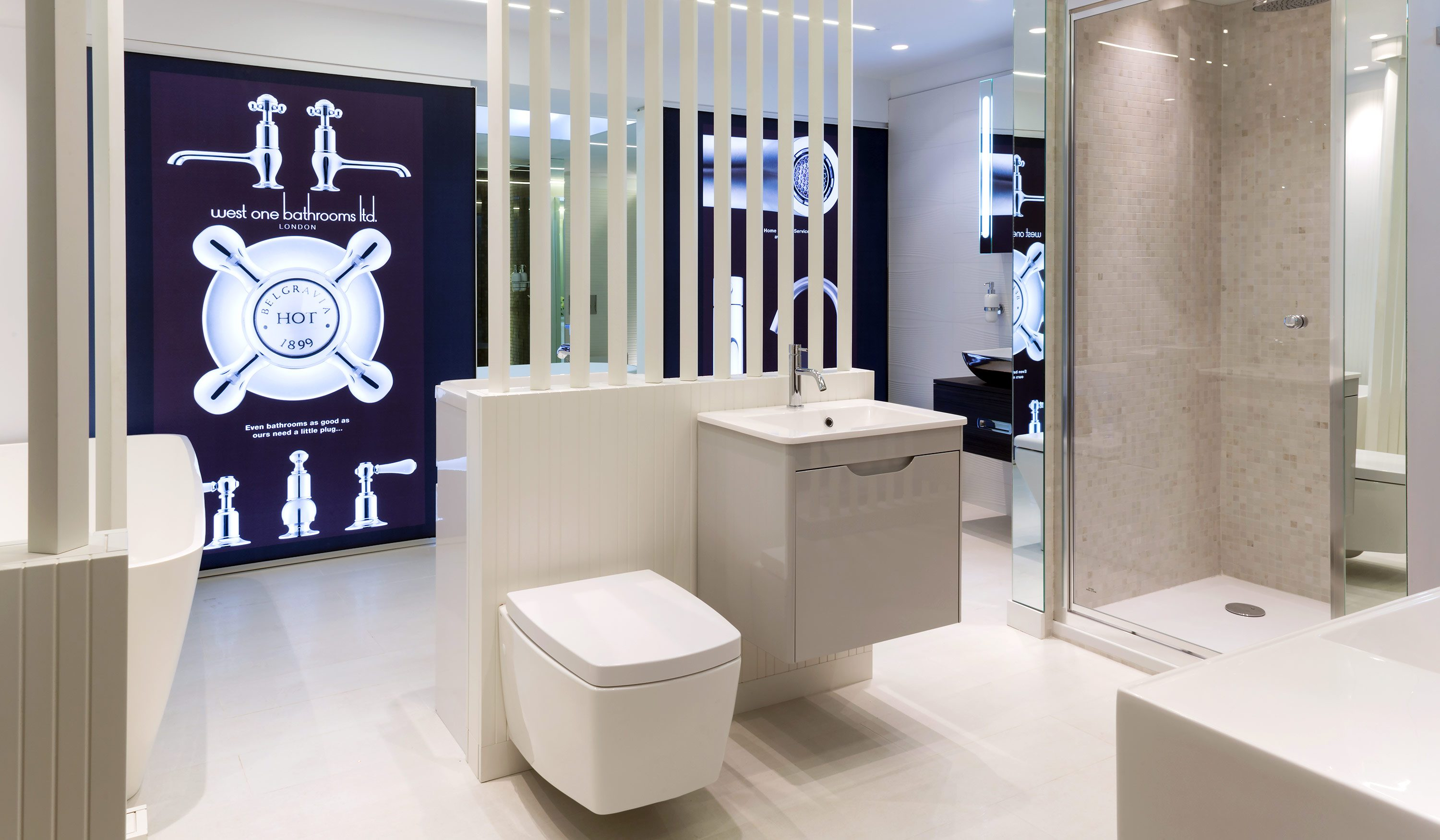 West One Bathrooms Kings Road Chelsea Showroom 6