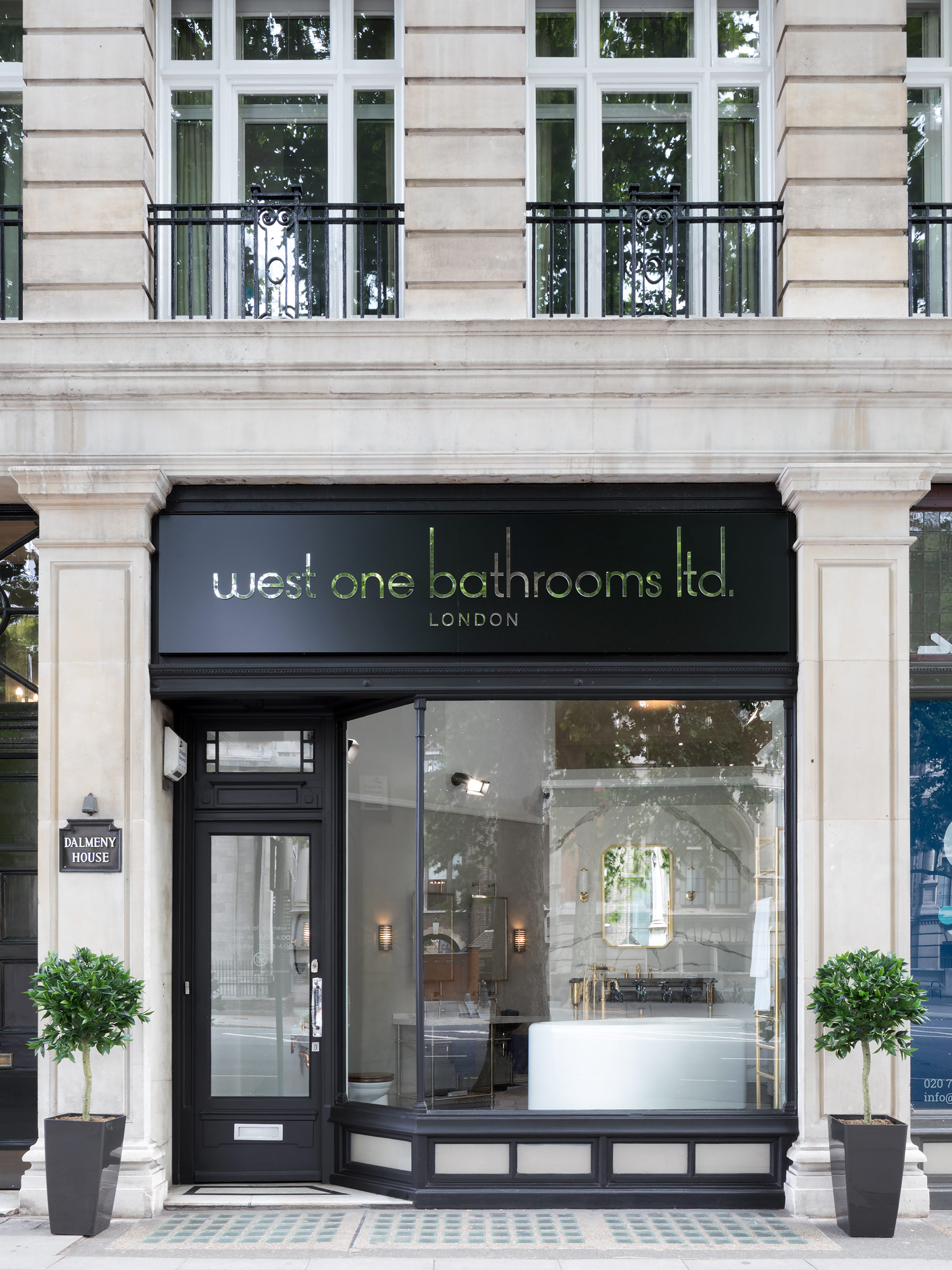 West One Bathrooms Knightsbridge Showroom Thurloe Place Exterior