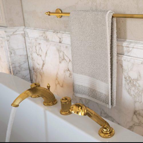 West One Bathrooms Mailmaison Brassware Bath 03